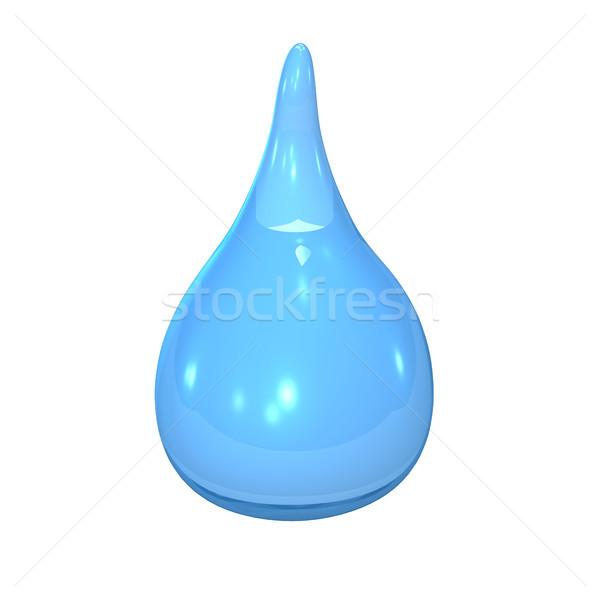 Stock photo: Blue Water Drop