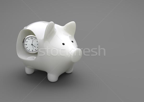 Time Piggy Bank Stock photo © limbi007