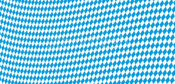 Seamless Rhombus Structure Bavarian National Colors Stock photo © limbi007