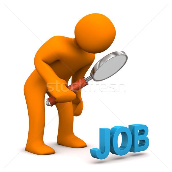 Manikin Loupe Job Stock photo © limbi007