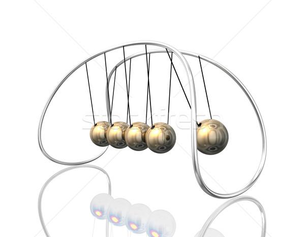 Pendulum 3D Stock photo © limbi007