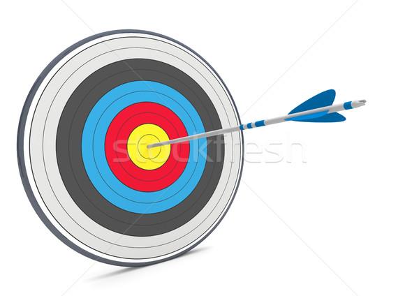 Target Arrow Stock photo © limbi007