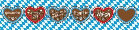 Oktoberfest Gingerbread Header Bavarian Background Stock photo © limbi007