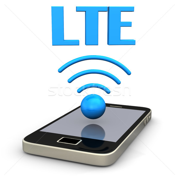 Smartphone LTE Radio Stock photo © limbi007