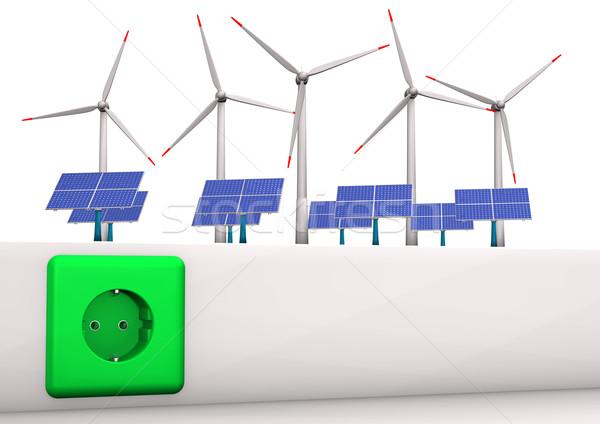 Green Energy Stock photo © limbi007