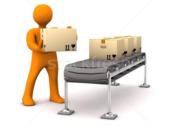 Shipment Stock photo © limbi007