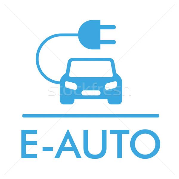 Symbol E-Auto vector illustration © limbi007 (#7033315) | Stockfresh