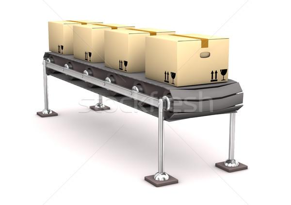 Line Cardboard Stock photo © limbi007