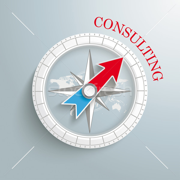 Stock photo: Compass Conulting