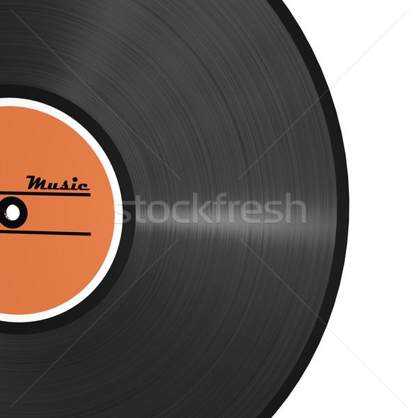 Vinyl Patter Record Stock photo © limbi007