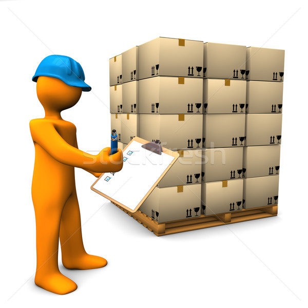 Check Pallet Stock photo © limbi007