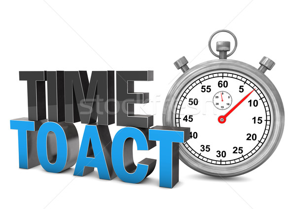 Stock photo: Time To Act