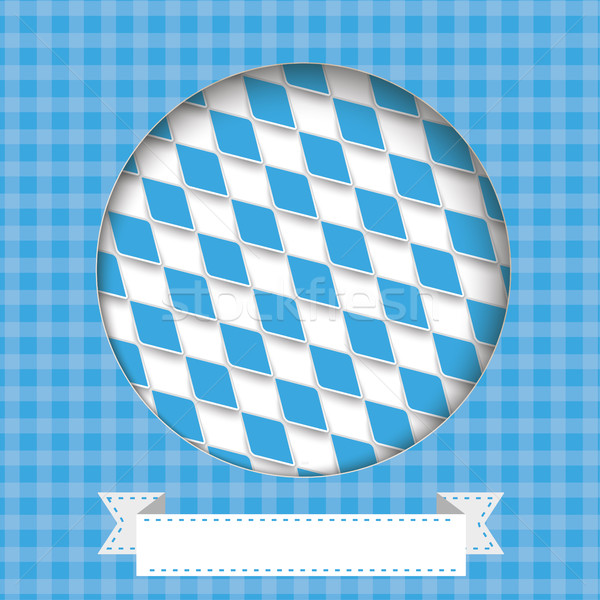 Bavarian Colors Hole Cover Ribbon Stock photo © limbi007