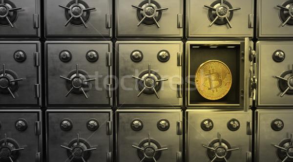 Bitcoin Strongboxes Stock photo © limbi007
