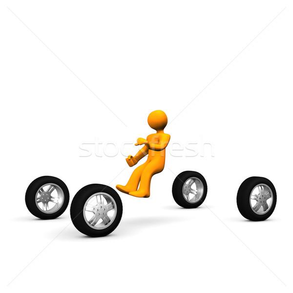 Man Driving Car Stock photo © limbi007