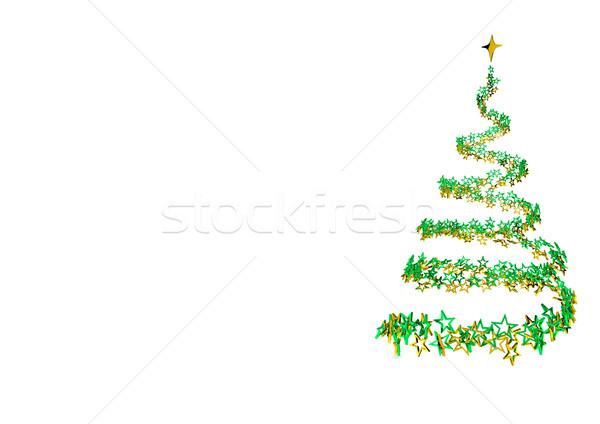 Stardust Christmas Tree Stock photo © limbi007