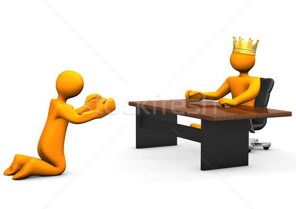 Job Beggar Crown Stock photo © limbi007