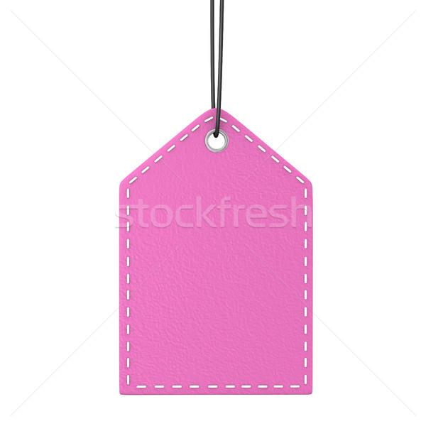 Pink Shopmark Stock photo © limbi007