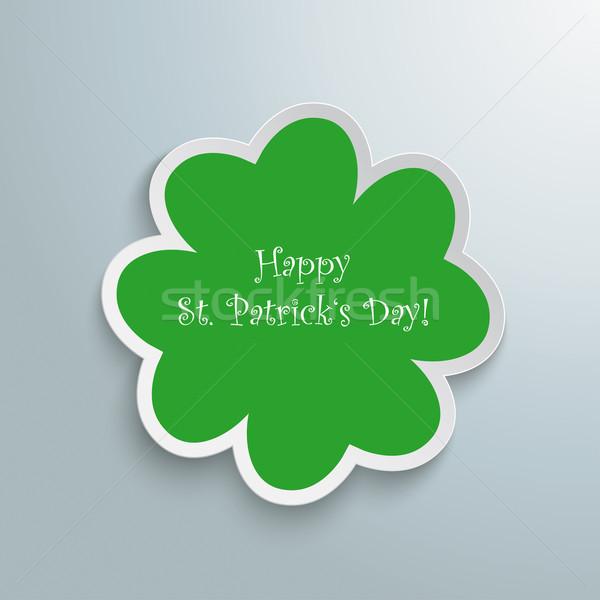 Green Shamrock Good St Patricks Day Stock photo © limbi007