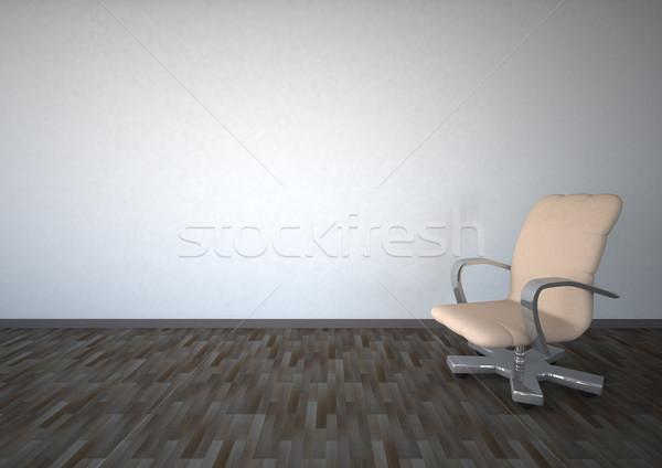üres szoba szék fehér iroda szoba konferencia Stock fotó © limbi007