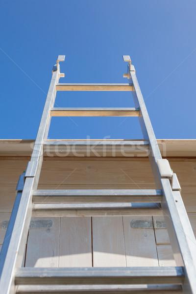 Ladder Blue Sky Stock photo © limbi007