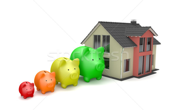 House Piggy Banks Growth Stock photo © limbi007