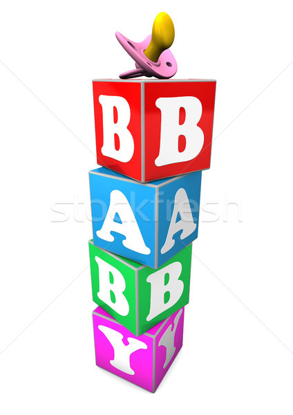 Stock photo: Baby Cubes