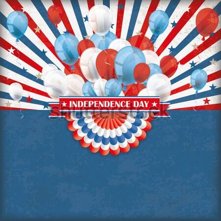Independence Day  USA Bunting Stock photo © limbi007