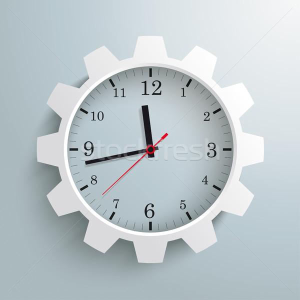 Clock Gear Wheel Stock photo © limbi007