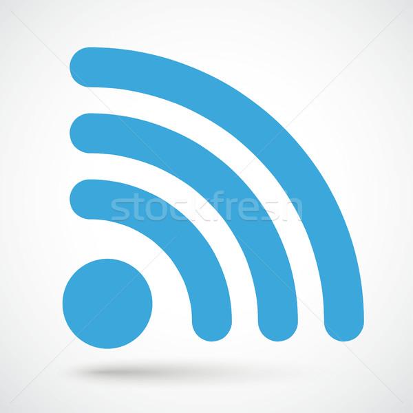 WiFi wireless internet signal  Stock photo © limbi007