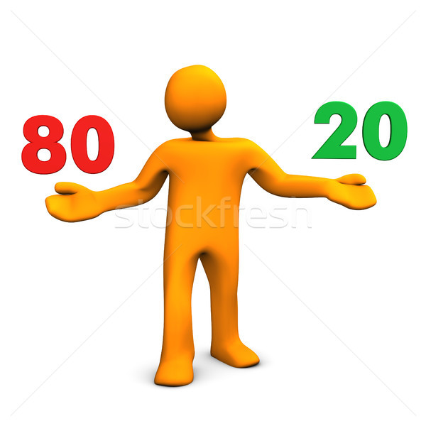 Pareto Principle Stock photo © limbi007
