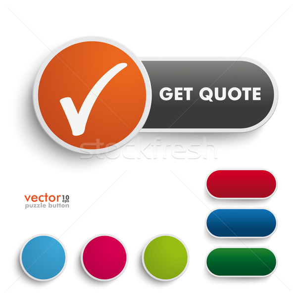 Get Quote Button Stock photo © limbi007