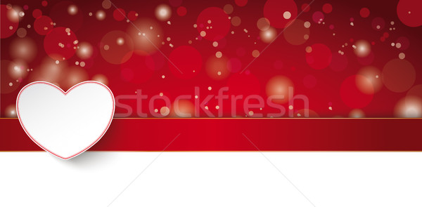 Lon Valentinesday Card Stock photo © limbi007