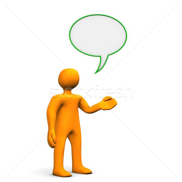 Communication Speech Bubble Stock photo © limbi007