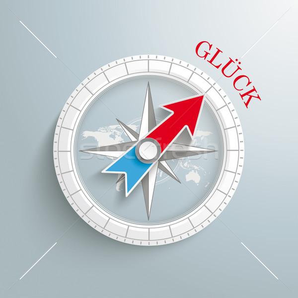 Compass Glueck Stock photo © limbi007