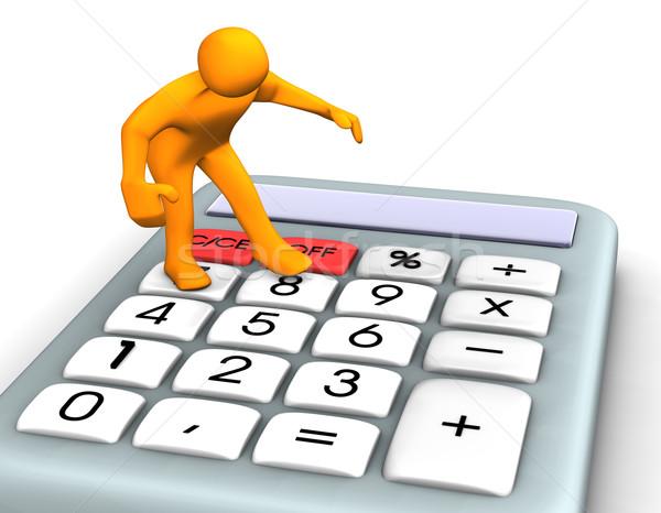 Calculator Stock photo © limbi007