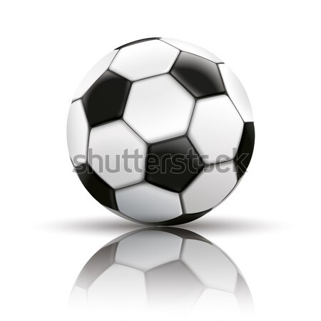 Football Mirror Background Stock photo © limbi007