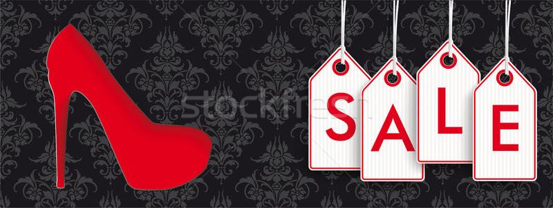 Ornamenten prijs stickers verkoop Stockfoto © limbi007