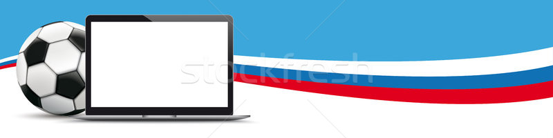 Football Russia Notebook Header Stock photo © limbi007