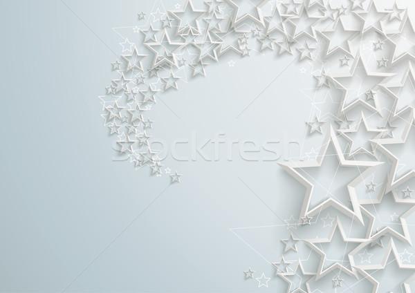White Stardust Stock photo © limbi007