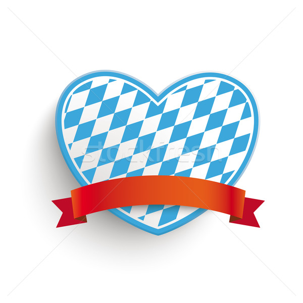Bavarian Heart  Stock photo © limbi007