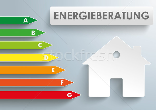House energy efficiency category Consulting Stock photo © limbi007