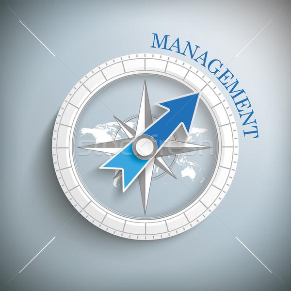 Compass Management Stock photo © limbi007