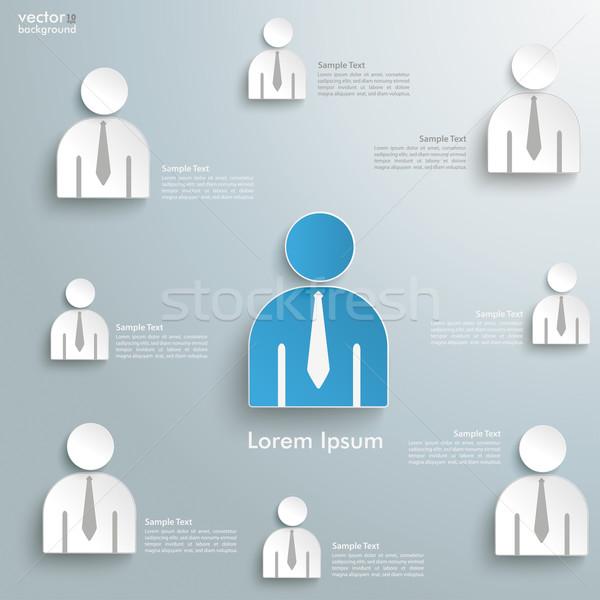 Business Humans Superior Stock photo © limbi007