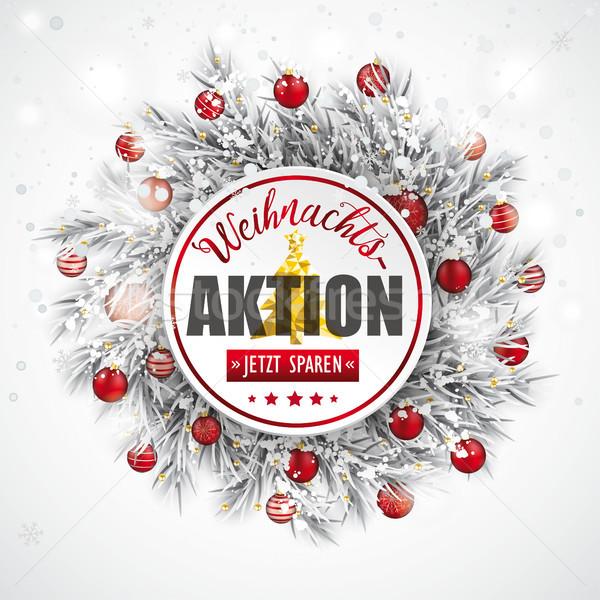 Сток-фото: Рождества · заморожены · текста · продажи