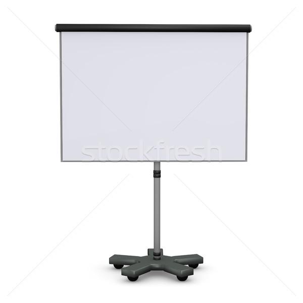 メモ帳 白 3次元の図 オフィス にログイン 訓練 ストックフォト © limbi007