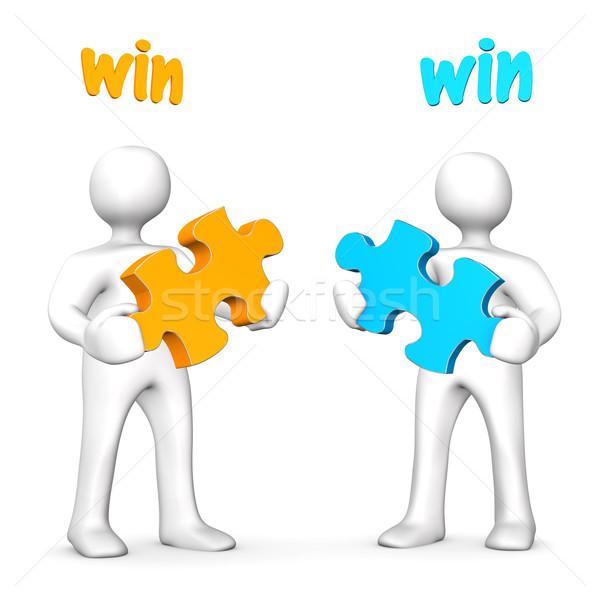 Win-Win Business Stock photo © limbi007