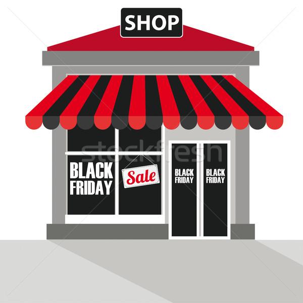 Shop Black Friday Stock photo © limbi007