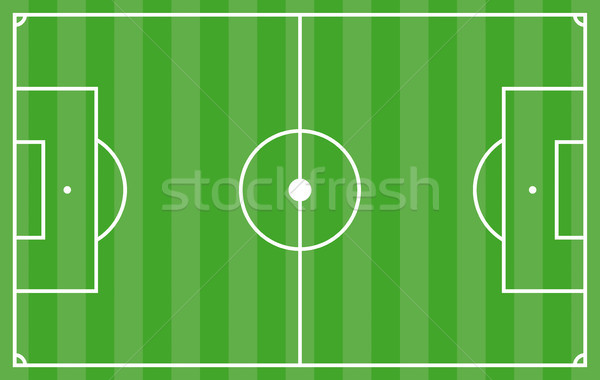 Calcio tattica verde strisce terra coprire Foto d'archivio © limbi007
