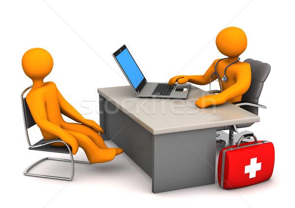 Doctor Patient Stock photo © limbi007